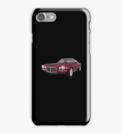 Candy Apple 1972 Camaro  iPhone Case/Skin