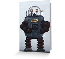 Retro Robot #3 Greeting Card