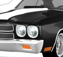 Black 1970 Chevelle SS Sticker