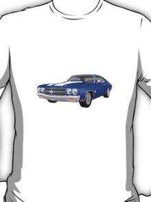 Blue 1970 Chevelle SS T-Shirt