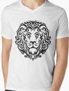 TribalLion Mens V-Neck T-Shirt