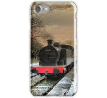The train is in the station. iPhone Case/Skin