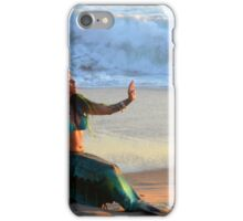 Stopping the Sea iPhone Case/Skin