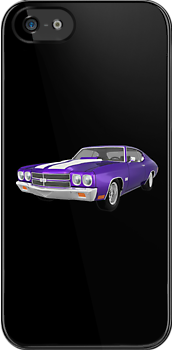 Purple 1970 Chevelle SS by bradyarnold