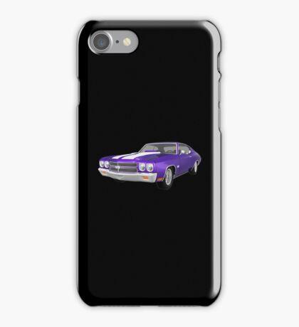 Purple 1970 Chevelle SS iPhone Case/Skin