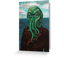 Man from Innsmouth Greeting Card