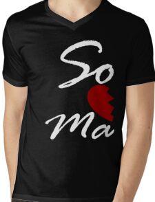 Soul Mate - Right Black Mens V-Neck T-Shirt