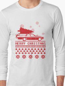 Christmas tree wagon full sweater Long Sleeve T-Shirt