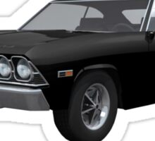 Black 1969 Chevelle SS Sticker