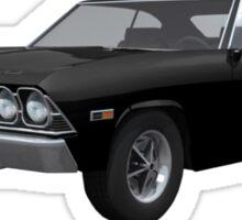 Black 1969 Chevelle SS Sticker
