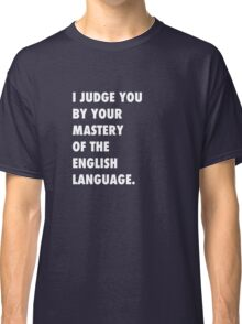 English Language Classic T-Shirt