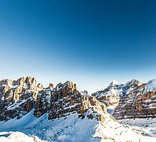 Italian Dolomiti ready for ski season by zakaz86