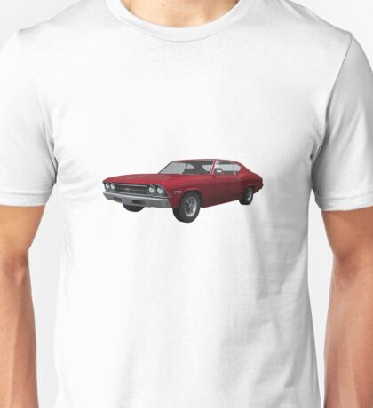 Candy Apple 1969 Chevelle SS Unisex T-Shirt