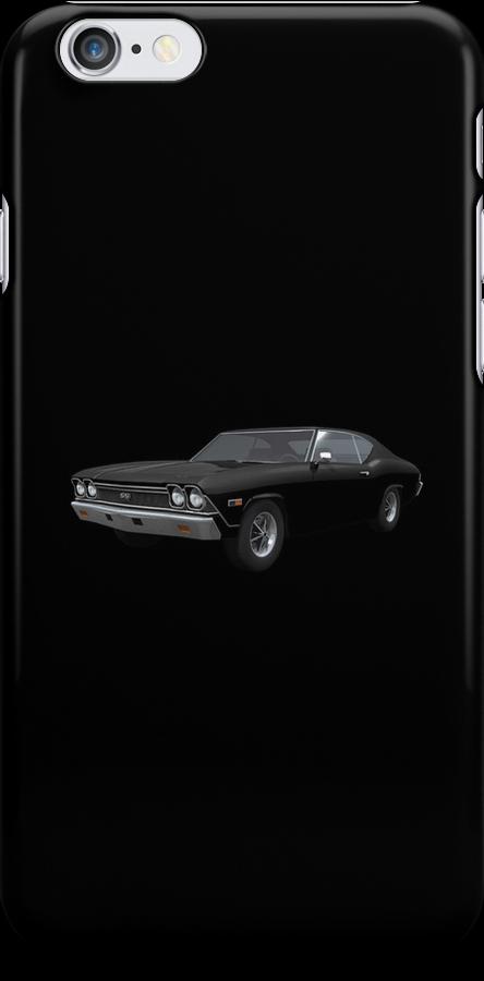 Black 1968 Chevelle SS by bradyarnold