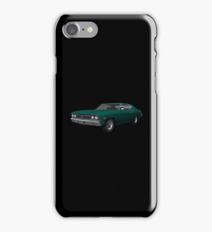 Green 1968 Chevelle SS iPhone Case/Skin