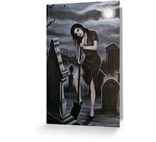 Ghoulish Devotion Greeting Card