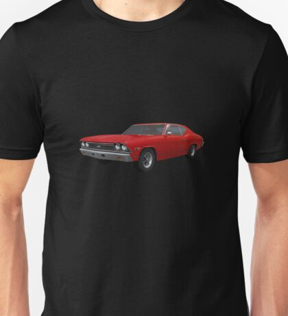 Red 1968 Chevelle SS Unisex T-Shirt