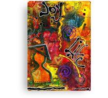 Joyfully Living Life Anew Canvas Print