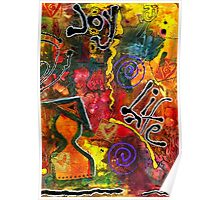 Joyfully Living Life Anew Poster