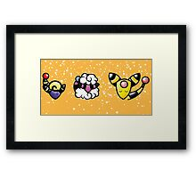 Silent Night: Electric Trio Framed Print