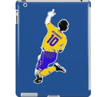 king Zlatan 2 iPad Case/Skin