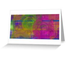 Colorful 18 Greeting Card