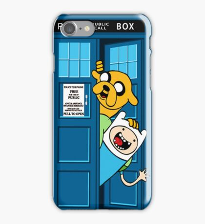 adventure time jake tardis  iPhone Case/Skin