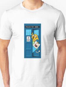 adventure time jake tardis  Unisex T-Shirt