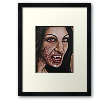 Life Blood Framed Print