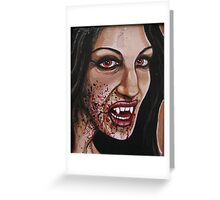 Life Blood Greeting Card
