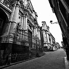 Via dei Crociferi by Andrea Rapisarda