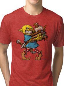 Chicken Goblin   Tri-blend T-Shirt