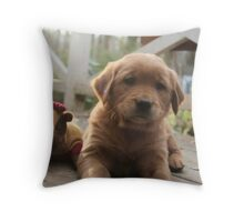 Jeremiah- Hanging With The Mascot Throw Pillow