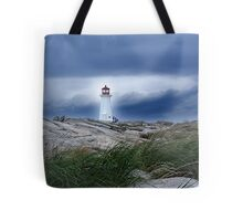 Against The Storm Tote Bag
