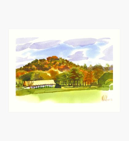 Pilot Knob Mountain Art Print