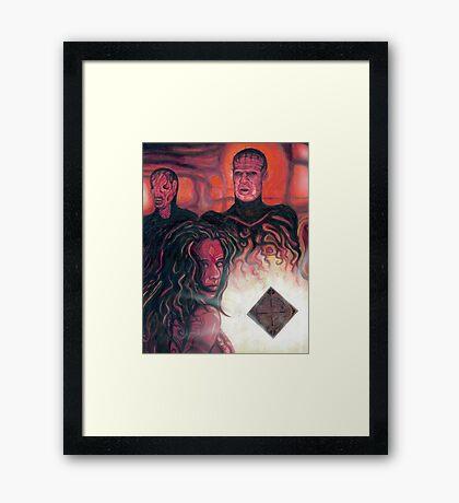 Hellraiser Girl Framed Print