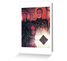 Hellraiser Girl Greeting Card