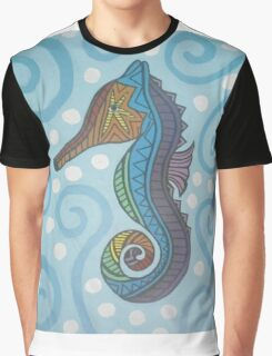 The Lone Seahorse Graphic T-Shirt