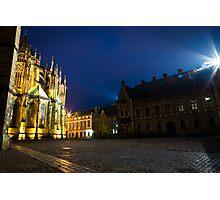 evening in Prague Photographic Print