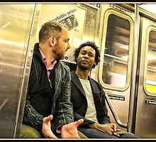 Conversation on the Train by Mikell Herrick