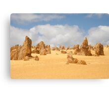 The Pinnacles at Nambung National Park Western Australia Canvas Print