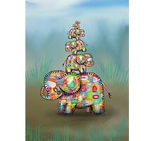 elephant jumble Photographic Print