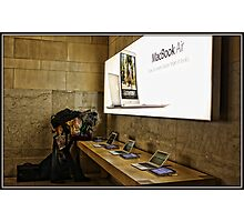 Mac Book Tester Photographic Print
