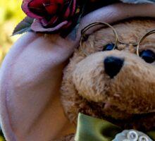 Bear Stories: Beary Happy Bear Portrait Sticker