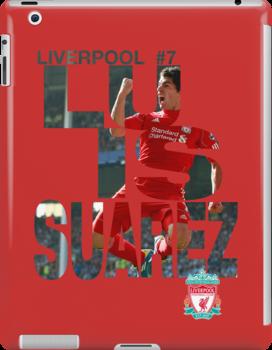 Luis Suarez Liverpool FC - el pistolero by rodrigoafp