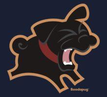 Black Pug (Un)Bark! Kids Clothes