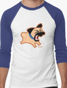 Tugg (Un)Bark!  Men's Baseball ¾ T-Shirt