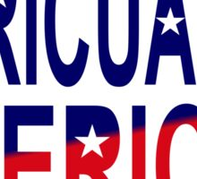 Boricua American Multinational Patriot 2.0 Sticker