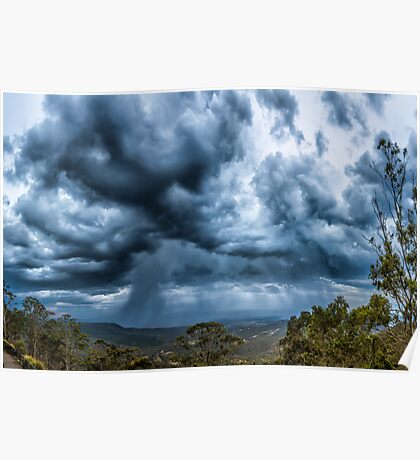 Picnic Point Thunderstorm Poster