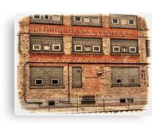 GEORGE BANTA COMPANY Canvas Print